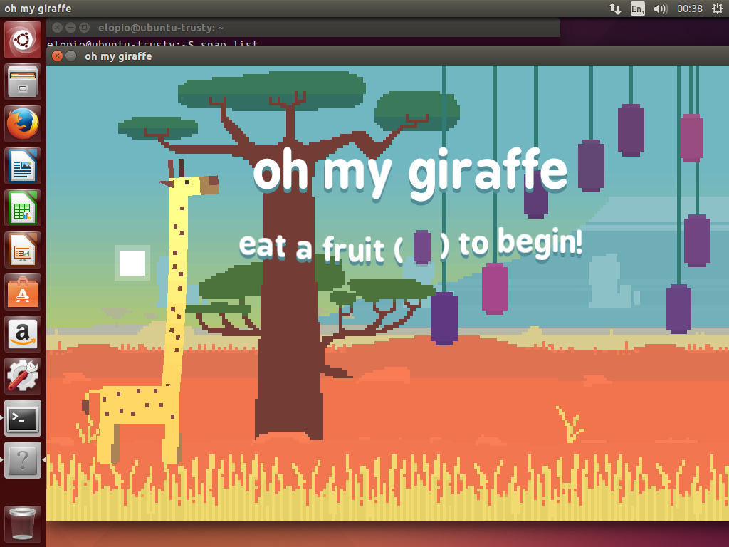 screenshot of ohmygiraffe