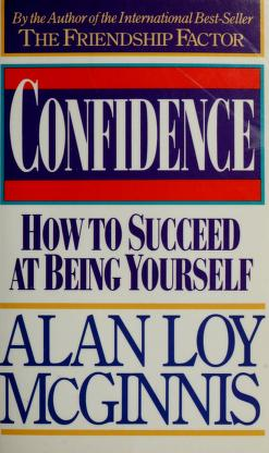 Cover of: Confidence | Alan Loy McGinnis