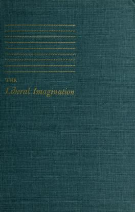 Cover of: The liberal imagination | Trilling, Lionel